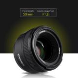 Yongnuo Yn50Mm F1 Lensa Dx Fx Bukaan Besar Fokus Otomatis Untuk Nikon Outdoorfree Murah