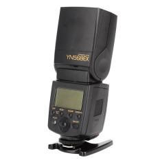 YongNuo YN568EX 2.0 inci LCD High-Speed 1/8000 sinkronisasi TTL Flashgun untuk Digital Nikon DSLR hitam