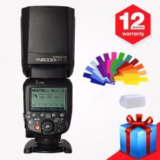 Yongnuo YN600EX-RT II Nirkabel Flash Speedlite TTL Master untuk Canon 70D 60D 50D 40D 30D dengan Wingoneer Diffuser dan Filter- internasional