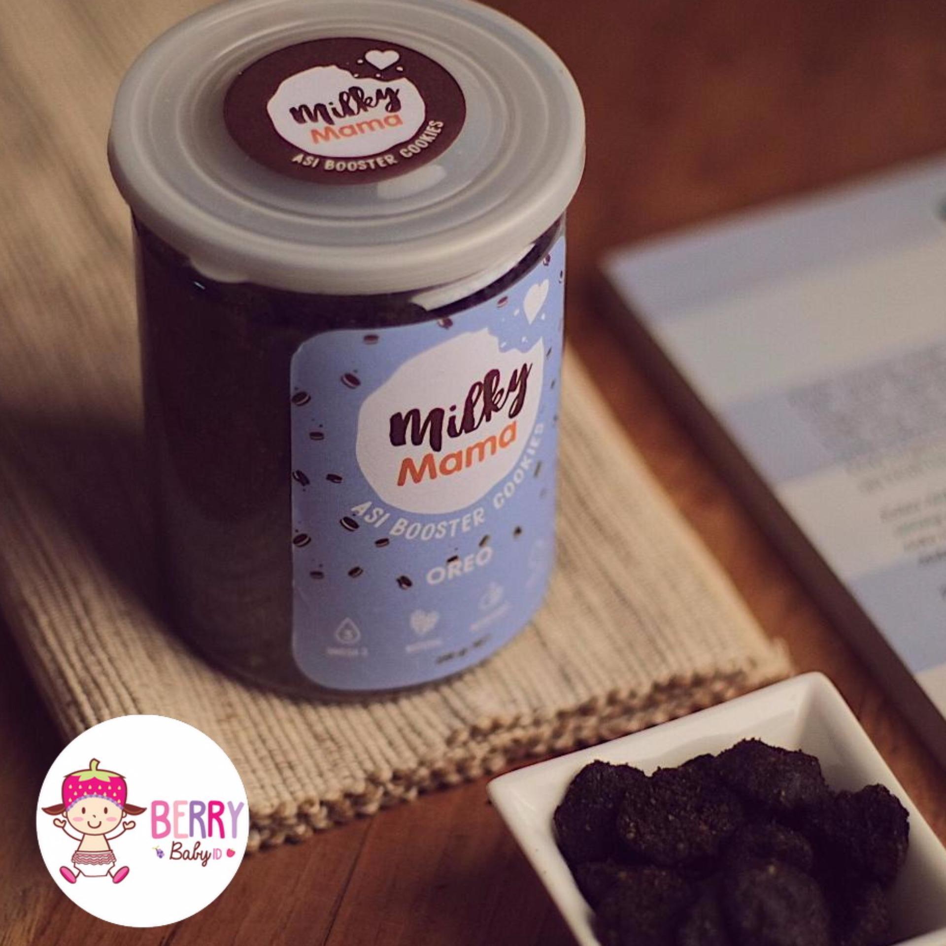 Jual Yooberry Mama Bear Cookies Pelancar Asi Milky Mama Rasa Oreo Online Di Jawa Barat