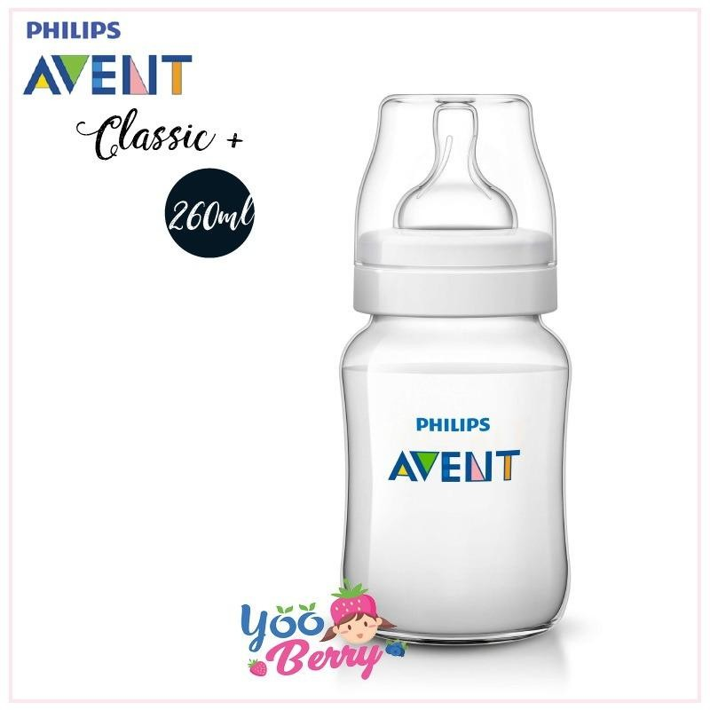 Harga Yooberry Philips Avent Botol Susu Classic 260Ml Single Pack Original