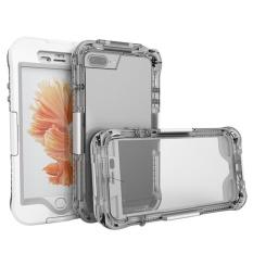 Yooc Jiie® 3in1 Terbaru Yang Disempurnakan Tahan Air Tahan Kotoran Sidik Jari Tombol Smartphone Case untuk iPhone 7 Plus-Internasional