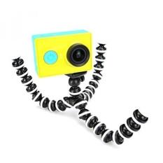 YOOSKE Universal 360��Rotational Octopus Tripod Bracket untuk Digital Kamera DV Gorillapod untuk Canon Nikon (HITAM PUTIH)-Intl
