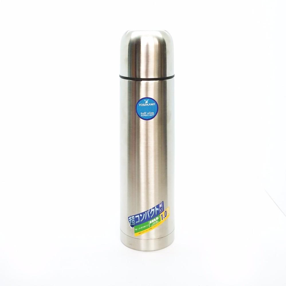 Harga Yoshikawa Vacuum Flask 1 Liter Ys100 Silver Fullset Murah