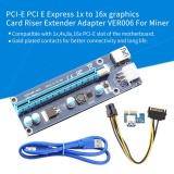 Jual Yosoo Pci E Express 1X Untuk 16X Kartu Grafis Riser Adaptor Intl Oem Grosir