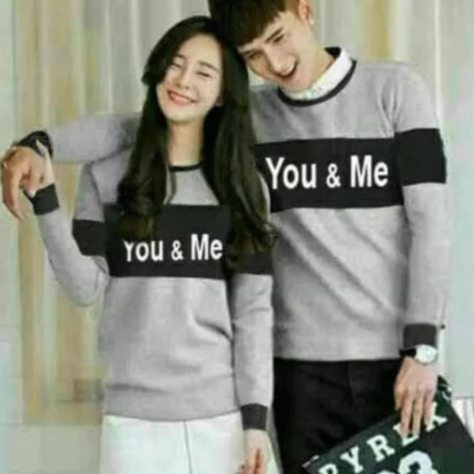 Diskon Besarsweater Couple You Me Misty
