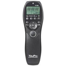YouPro YP-880 S2 Kabel Pelepas Rana Kamera Remote For Mengendalikan Tampilan LCD Penunjuk Waktu Sony A58 A7R A7 A7II A7RII A7SII A7S A6000 A5000 A5100 A3000 RX110II DSLR