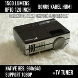 Yourday Yrd600 Mini Proyektor Led Projector Tv Tuner Promo Beli 1 Gratis 1