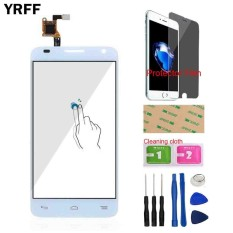 YRFF 4.3 For Alcatel One Touch Idol 2 Mini S OT6036 6036 Front Touch Screen Glass Digitizer Panel Sensor Tools Protector Film Adhesive - intl