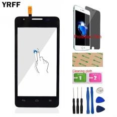 YRFF 4.5 untuk Huawei Ascend G510 G520 G525 U8951 T8951 Touch Screen Digitizer Touch Panel Glass Lens Sensor FLEX Kabel Alat Gratis Protector Film Perekat-Intl