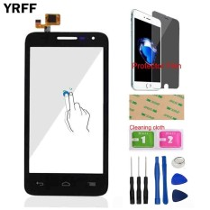 YRFF 4.5 Inch untuk Alcatel One Touch POP D5 5038 5038D 5038E 5038X OT5038 Depan Ponsel Touch Screen Digitizer Touch Panel Kaca Film Pelindung-Internasional
