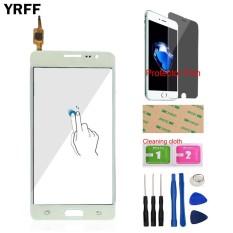 YRFF 5.0 ''Layar Sentuh Digitizer Kaca Sensor Panel untuk Samsung Galaxy On5 G5500 G550 Layar Sentuh Alat Pelindung Film Perekat-Intl