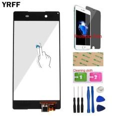Toko Yrff 5 2 Untuk Sony Xperia Z4 E6533 E6553 Layar Sentuh Digitizer Sensor Lensa Kaca Luar Panel Capacitive Flex Kabel Alat Pelindung Film Perekat Intl Murah Di Tiongkok