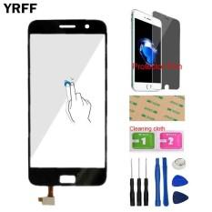 YRFF 5.5 ''Digitizer Sensor Penggantian Layar Sentuh Panel Kaca untuk Lenovo ZUK Z1 Len Sensor Alat Free Protector Film Perekat-Intl
