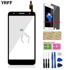 YRFF 5.5 ''Untuk Alcatel One Touch POP 4 Plus OT5056 5056 5056A Kaca Layar Sentuh Depan Digitizer Panel Lens Sensor Alat Pelindung Film Perekat-Intl