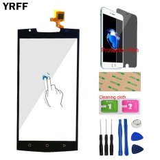 YRFF 5.5inch TouchGlass For Oukitel K10000 Pro Front Touch Screen Touch Digitizer Panel Glass Lens Sensor + Free Tools Protector Film Adhesive - intl