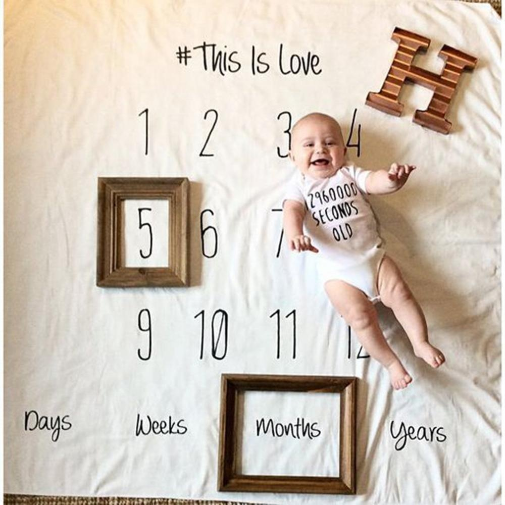 Yugos Baby Cotton Muslin Swaddle Selimut Snuggle Multi-use Di Nursery, Unik Props Fotografi-Intl
