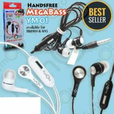 YUMOTO New Mega Bass Headsfree Sound Only Excellent Sound Quality With Mic good Quality Warna Random