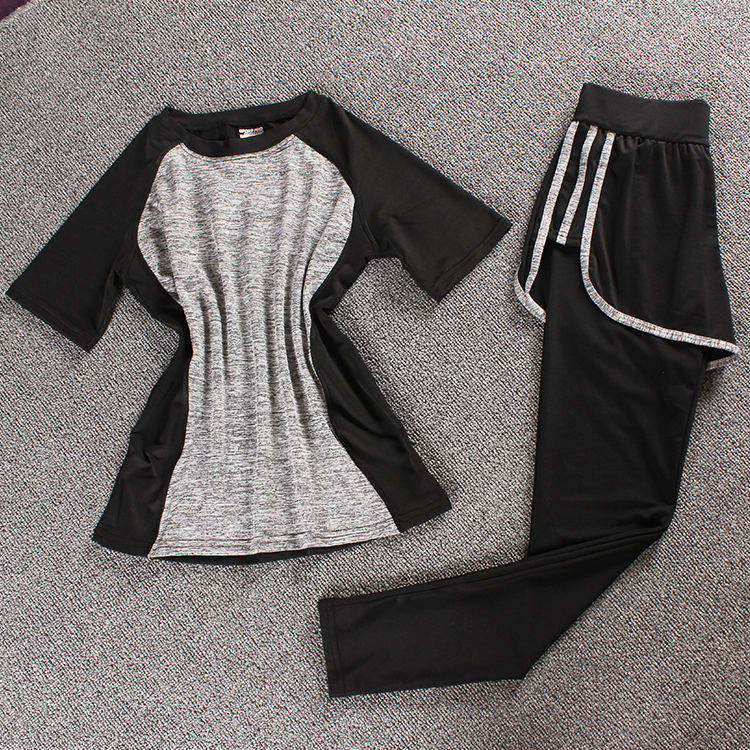 Jual Perempuan Gym Joging Celana Pakaian Yoga St Abu Abu Tiga Sisi Celana Symphony Abu Abu Oem Asli