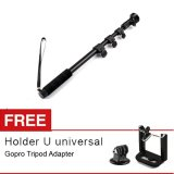 Beli Yunteng Monopod Yt 188 For Action Cam Gratis Gopro Adapter Holder U Baru