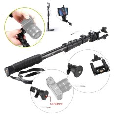 Spesifikasi Yunteng Selfie Stick Monopod Tongsis With Built In Aux Cable And Phone Clip Hitam Dan Harga