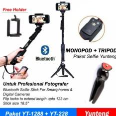 Ulasan Lengkap Yunteng Tongsis Bluetooth Yt 1288 Mini Tripod Yunteng High Quality