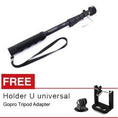 Dapatkan Segera Yunteng Tongsis Built In Tomsis Kabel Yt 1188 Hitam Gratis Holder U Gopro Xiaomi Tripod Adapter