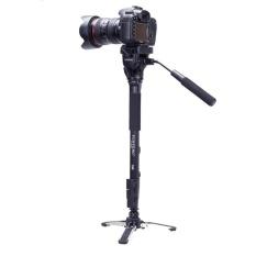 Yunteng VCT-288 Fotografi Tripod Monopod & Fluid Pan Kepala & Unipod Penahan untuk Canon Nikon Kamera-Internasional