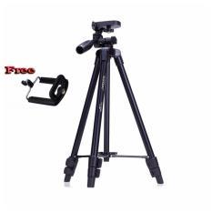 Yunteng VCT-520 Tripod Stand 3-Way Lightweight Pro Camera,Action Camera Tripod Stand