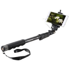 Jual Yunteng Yt 1188 Selfie Stick Monopod Tongsis With Built In Aux Cable And Phone Clip Hitam Original