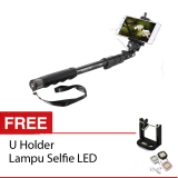 Beli Yunteng Yt 1188 Tongsis Selfie Stick Monopod Hitam U Holder Lampu Selfie Led Cicilan