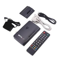 YYSL Mini LCD CRT TV Box VGA AV DVD Program Digital Tuner Receiver Monitor-Intl