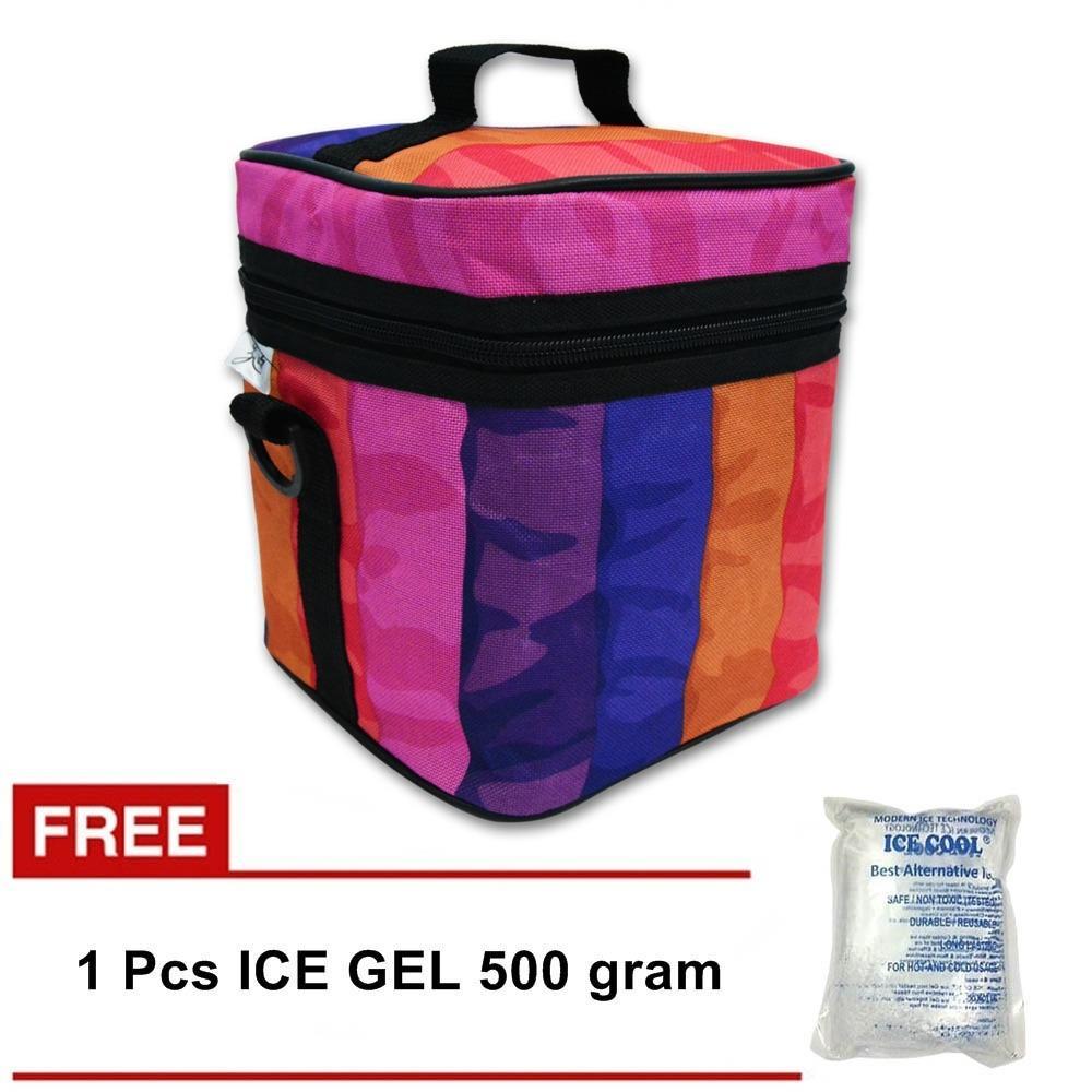 Harga Z Two Cooler Bag Asi Tas Asi Coolerbag Penyimpan Asi Gratis Ice Gel