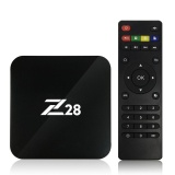 Spesifikasi Z28 Android 7 1 Tv Box Rk3328 Quad Core 64Bit 2G 16G H 265 Uhd 4 K Vp9 Hdr 3D Mini Pc Wi Fi U S Plug Intl