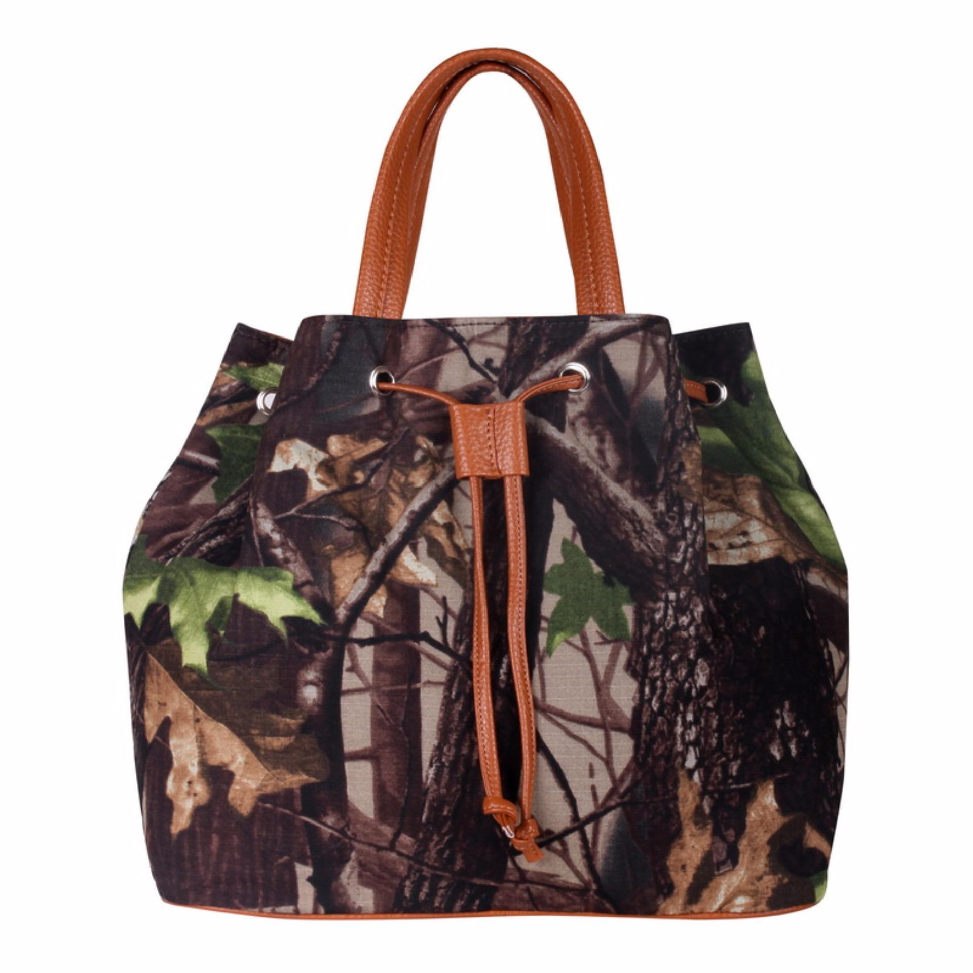 Zada Tas Tote Bag Wanita Motif Print Original