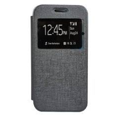 Zagbox Flip Cover for Vivo X5 Pro - Abu-abu