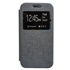 Zagbox Flip Cover Huawei g8 - Abu-abu