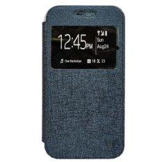 Zagbox Flip Cover Huawei g8 - Biru Dongker(Navy Blue)