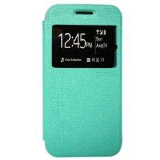 Zagbox Flip Cover Huawei g8 - Hijau Tosca(Green)