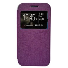 Zagbox Flip Cover Microsoft Lumia N532 - Ungu(Purple)