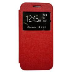 Zagbox Flip Cover Oppo F3 Plus /R9S Plus  - Merah