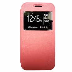 Zagbox Flip Cover Oppo F3 Plus /R9S Plus  - Pink