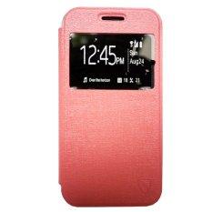 Zagbox Flip Cover untuk  Huawei Y3 - Pink