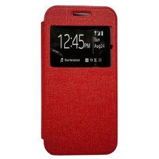 Zagbox Flip Cover untuk Oppo R1 X - Merah