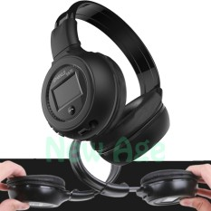 Zealot Dj B570 Wireless Bluetooth Headphone Dengan Fm & Slot Mikrosd - Hitam - Free Gift By New Age.