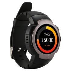 Zeblaze Blitz Android 5.1 OS MTK6580 Smartwatch 360X360 Smartwatch Mendukung 3G Wifi SIM Bluetooth Denyut Jantung PK Kw88 d5 X5 I2 Abu-abu