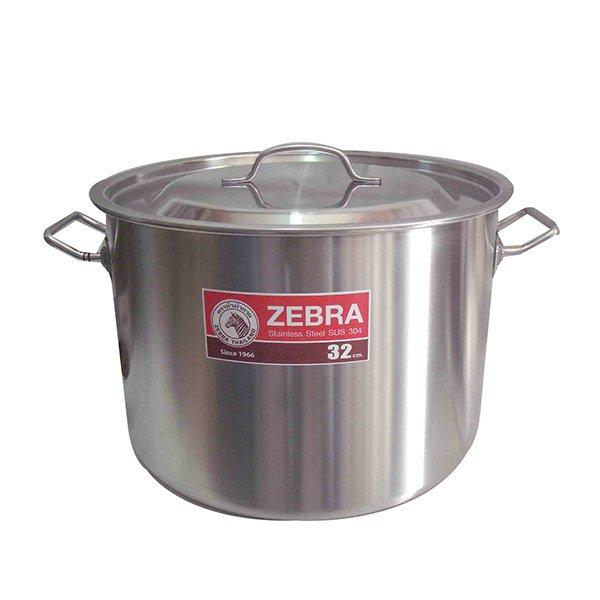 Zebra Stock Pot 32x23Cm 18ltr 171132