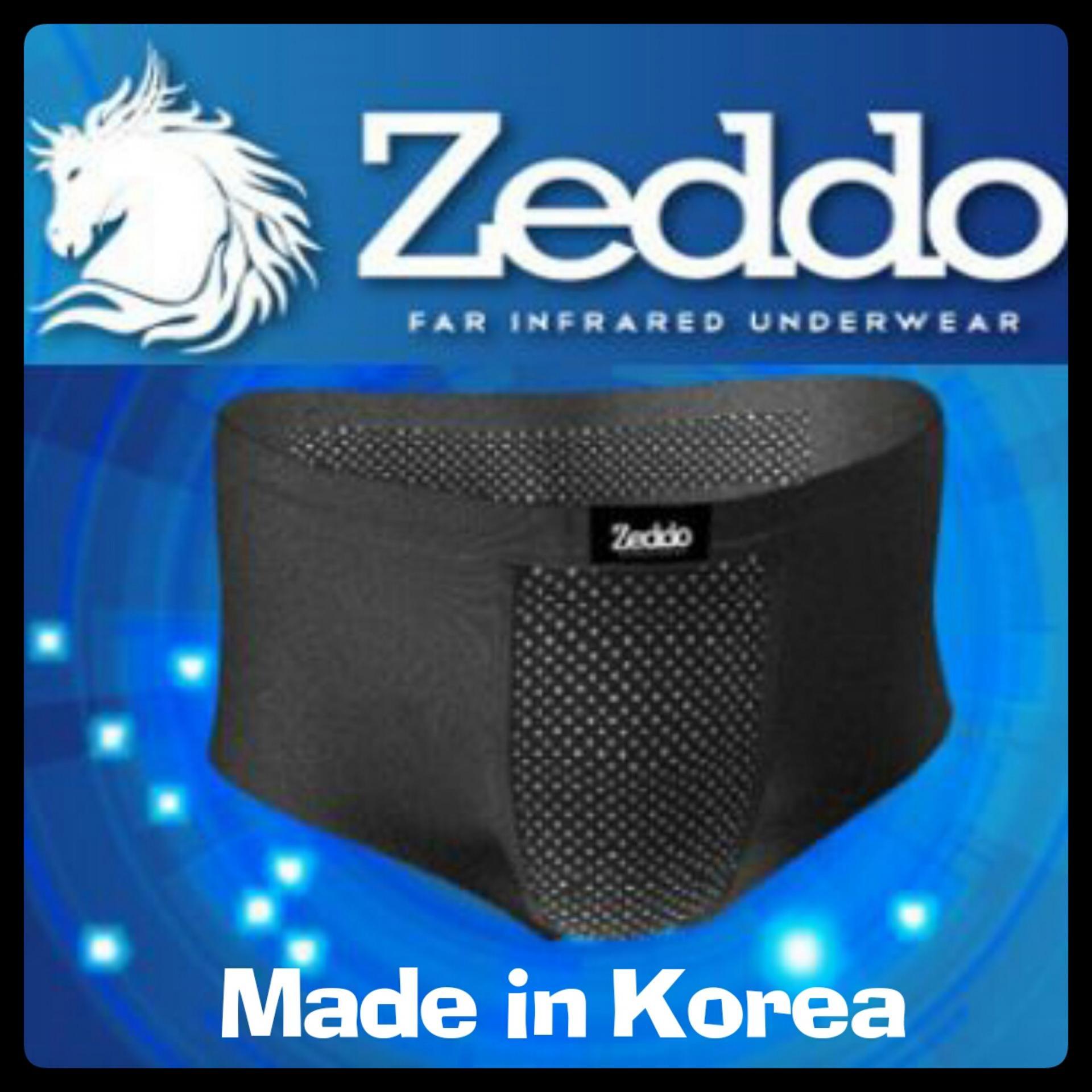Jual Zeddo Far Infrared Underwear Pakaian Dalam Terapi Kesehatan Pria Isi 3 Pcs