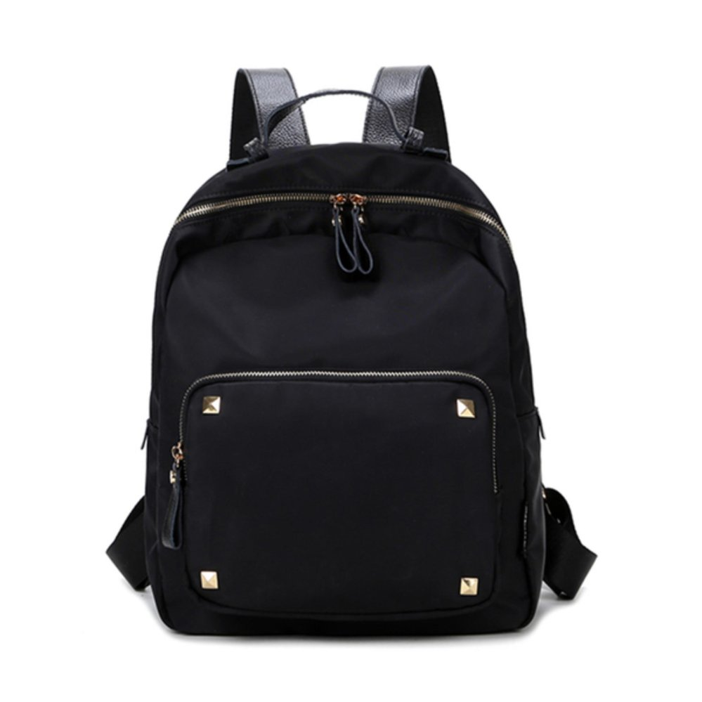 ZeeBee Fashion Oxford Backpack / Tas Ransel Wanita / Tas Fashion-Black