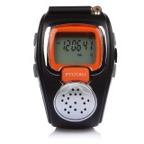 Miliki Segera Zell Freetalker Watch Walkie Talkie Isi 2Pcs Hitam Jingga